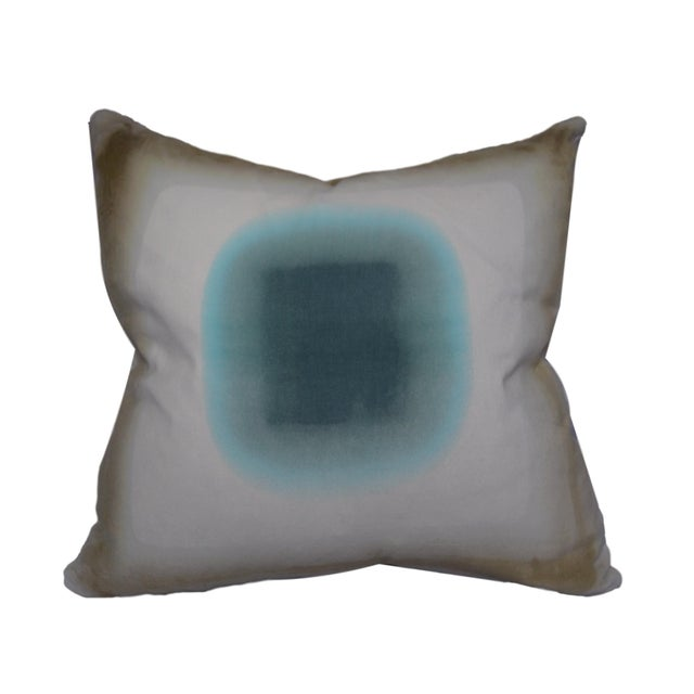 Custom pillow hand dyed by artist Daisy Sullivant. Each side and pillow is unique. The pillow includes a 90/10 down filled...