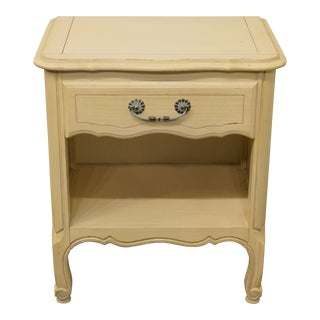 Vintage Late 20th Century French Provincial Nightstand For Sale