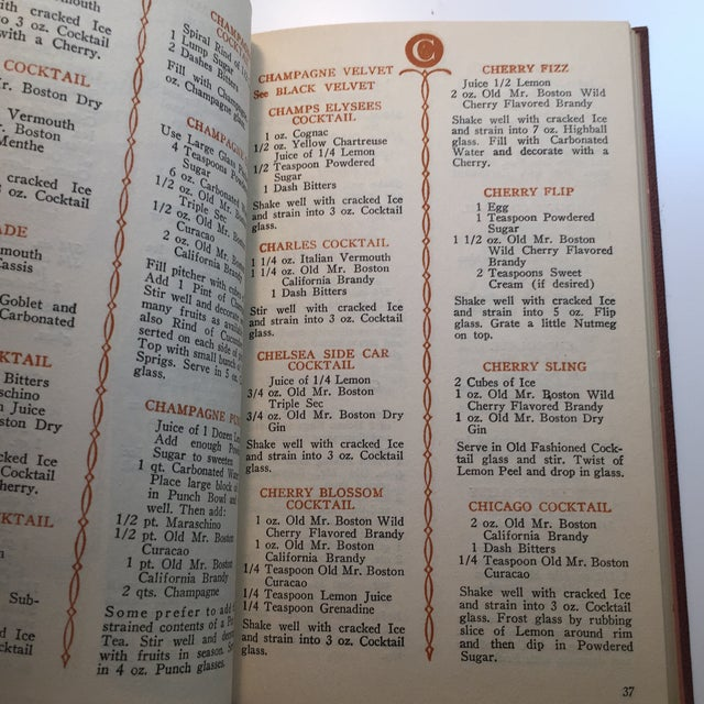 """Paper """"Old Mr. Boston Official Bartenders Guide"""" 1955 Book For Sale - Image 7 of 9"""