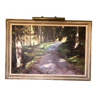 21st Century Landscape by Famous British Painter James Hart Dyke For Sale
