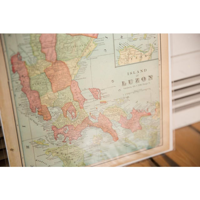 American Cram's 1907 Map of Luzon For Sale - Image 3 of 5