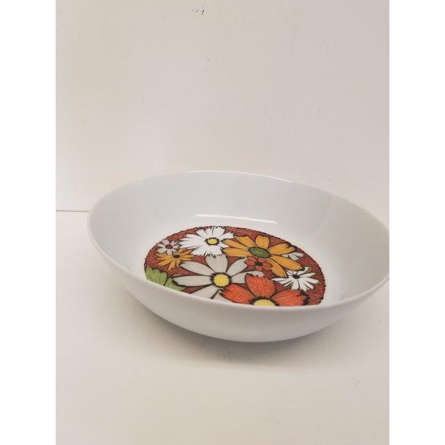 Noritake Modern 1960s Noritake Culebra Pattern Round Serving Platter & Serving Bowl - A Pair For Sale - Image 4 of 5