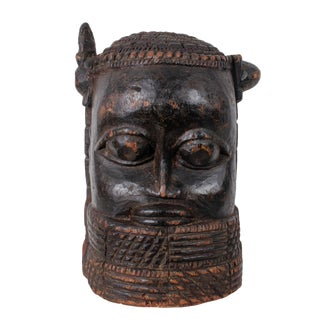 African Sowei Helmet Mask For Sale