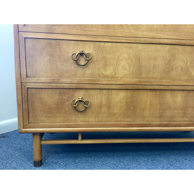 1950s Vintage Renzo Rutili for Johnson Hadley Johnson Chest of Drawers For Sale - Image 10 of 12