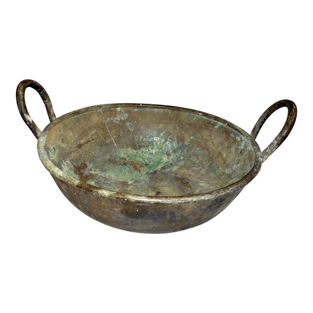 19th Century Ceylonese Basin Pot For Sale