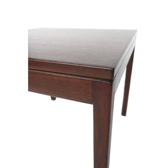 Jens Risom Danish Modern Walnut Side Table - Image 5 of 7