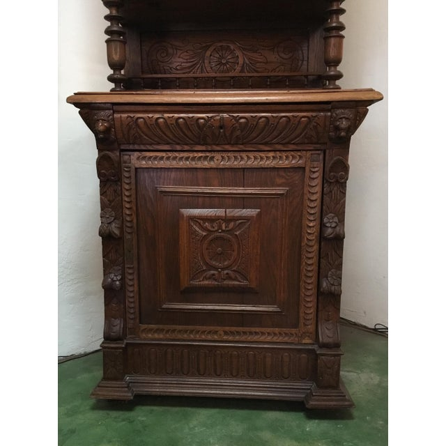 19th Century 19th Century Belgian Hunt Cabinet For Sale - Image 5 of 13