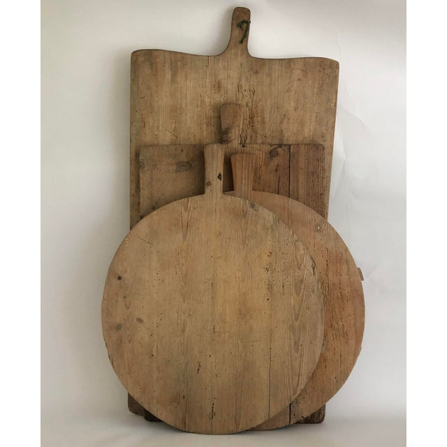 1950s Vintage German Bread/ Charcuterie Board For Sale - Image 5 of 6
