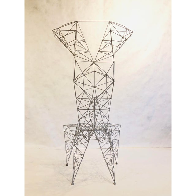 Abstract Pylon Chair For Sale - Image 3 of 5