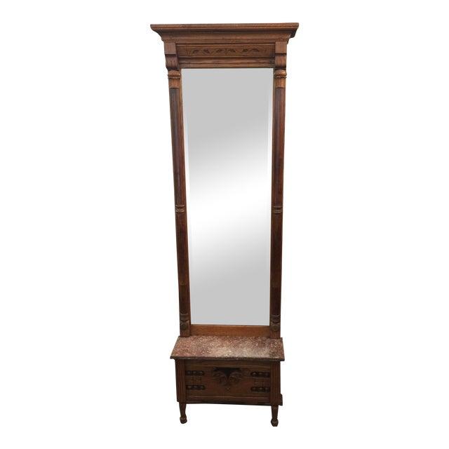 Victorian Eastlake Pier Mirror For Sale