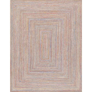 """Pasargad Home Ponta Collection Handmade Indoor/Outdoor Area Rug- 5' 0"""" X 8' 0"""" For Sale"""