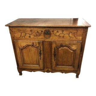 18th C. French Louis XV Cherry Wood Petrin For Sale