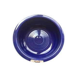 Vintage Fiesta Cobalt Blue Fruit Bowl For Sale