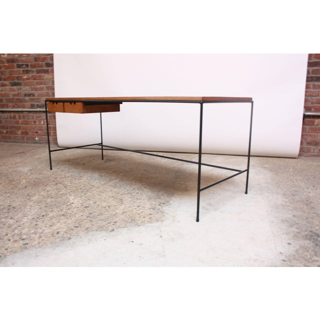 Paul McCobb for Winchendon Maple and Iron Console / Media Table For Sale - Image 13 of 13