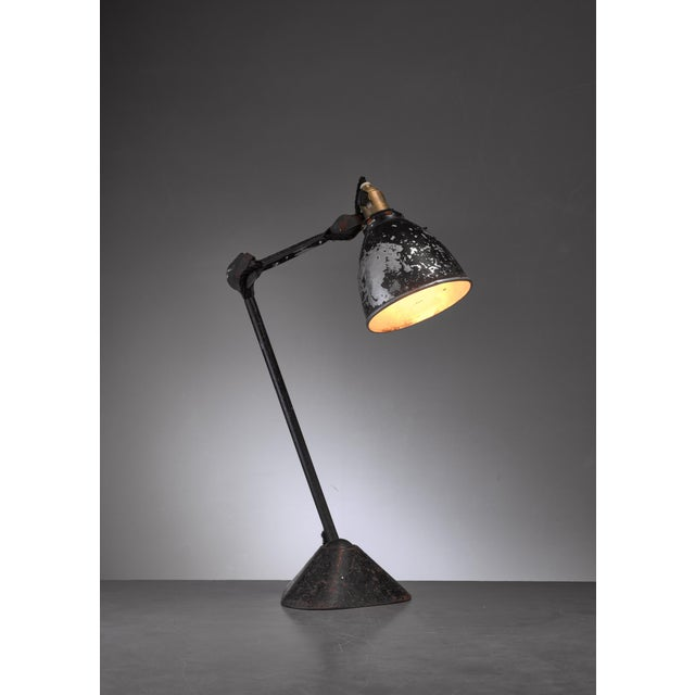 The iconic Lampe Gras model 205 table lamp was designed in 1921 by Bernard-Albin Gras and produced by Didier des Gachons &...
