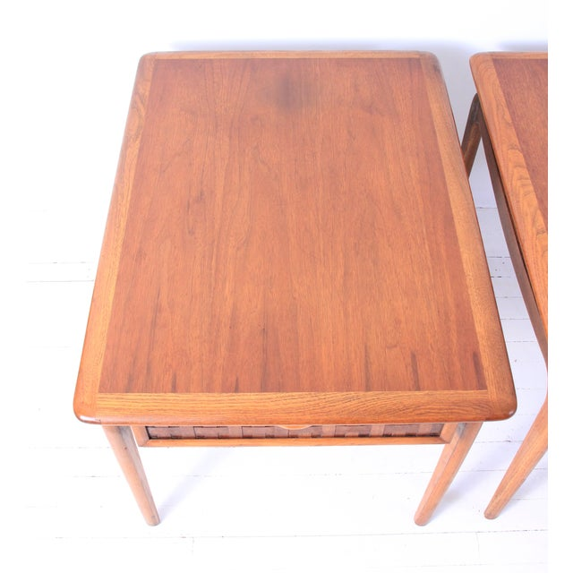 Vintage Lane Mid-Century Side Tables - a Pair - Image 5 of 10