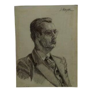 "Original Drawing Sketch ""Distinguished Gentlemen"" by Tom Sturges Jr., 1950"