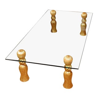 "Phyllis Morris ""Tassel"" Coffee Table For Sale"