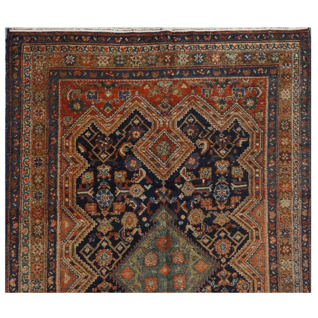 Antique Persian Malayer Rug - 5.10 x 16.8 - Image 3 of 4