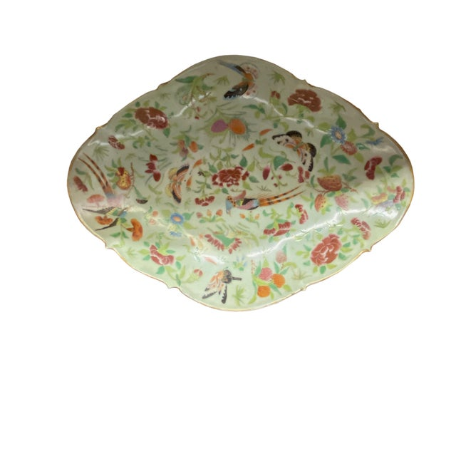 Antique Celadon Sweet Meat Bowl For Sale - Image 4 of 4
