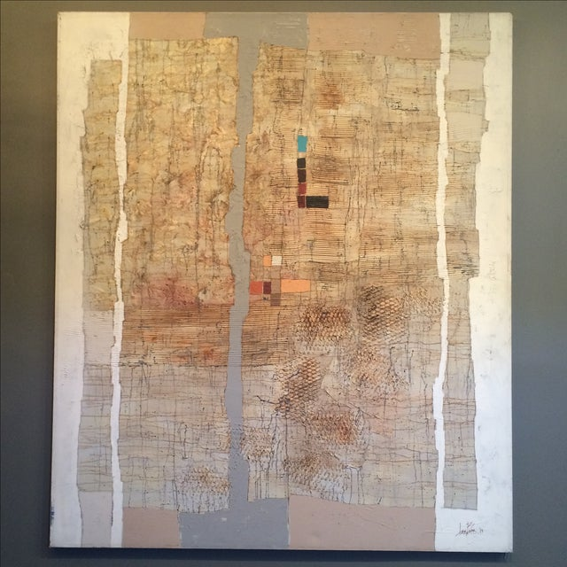 Abstract Contemporary Mixed Media by Lee Burr - Image 2 of 11