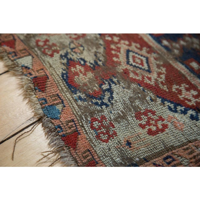 """Antique Anatolian Rug Mat - 1'10"""" x 2'8"""" For Sale - Image 5 of 6"""