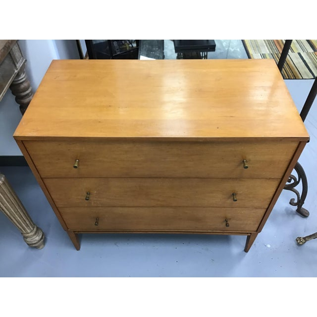 Paul McCobb Mid Century Paul McCobb Planner Group Three-Drawer Dresser For Sale - Image 4 of 9