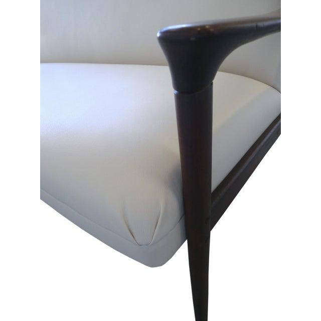 Vintage Ole Wanscher Danish White Sofa - Image 5 of 6