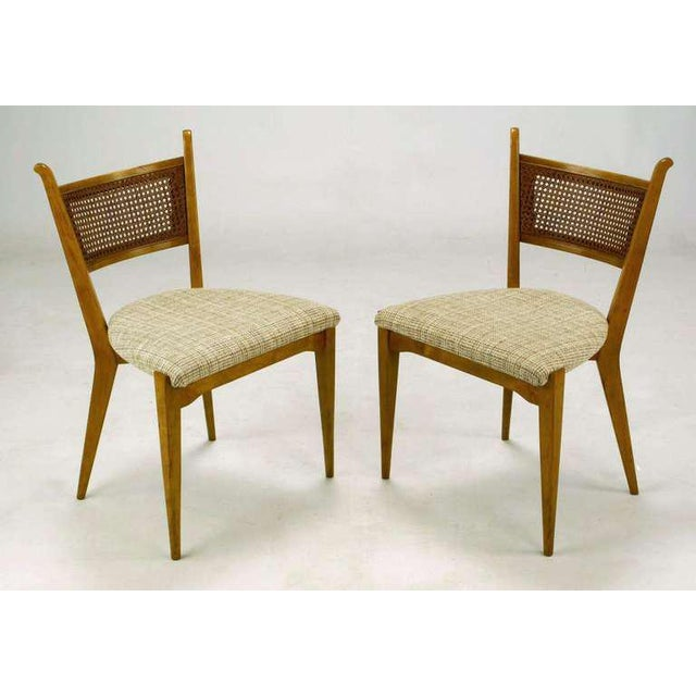 Mid-Century Modern Set Six Edmond Spence Swedish Dining Chairs For Sale - Image 3 of 11