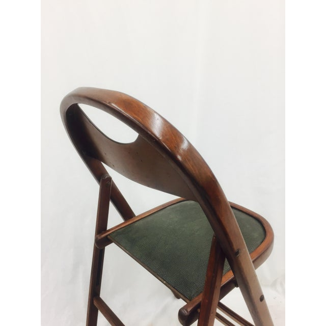 Vintage Bentwood Folding Chairs - Set of 6 For Sale - Image 11 of 11