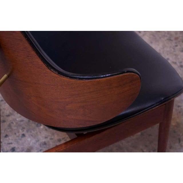 Seymour J. Wiener Walnut Lounge Chair for Kodawood For Sale - Image 9 of 13