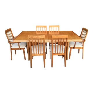 Beautiful Vintage Dining Set by Nordic Furniture Ontario, Canada. For Sale