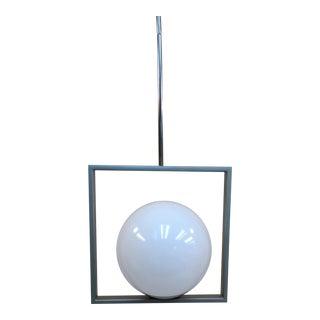 Framburg Lighting 4829 Blue Moon One Light Pendant For Sale