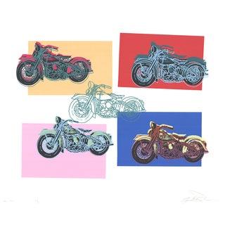 1994 Harley X5 Serigraph by Renbaum Freidbert