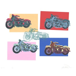 Renbaum Freidbert, Harley X5, 1994, Serigraph For Sale