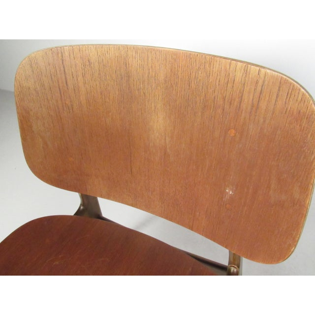 1950s Mid-Century Børge Mogensen Dining Chairs, Model 155 For Sale - Image 5 of 11