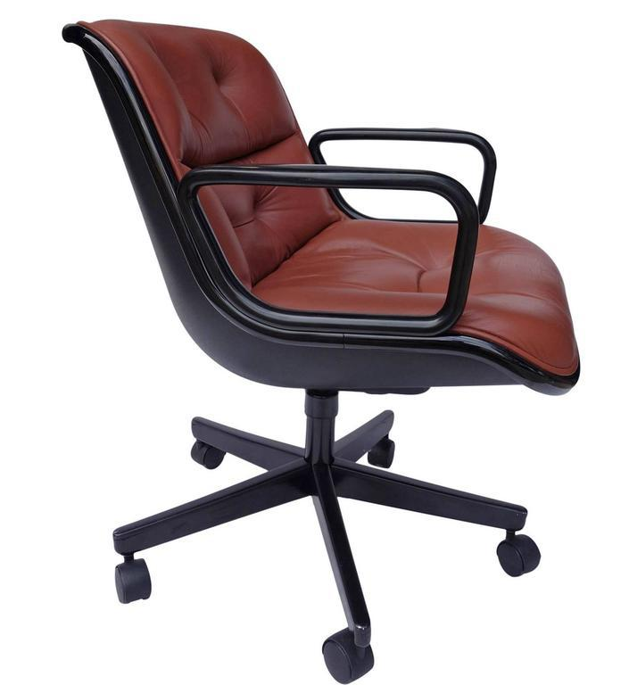 Knoll Executive Chair By Charles Pollock For Knoll For Sale   Image 4 Of 6