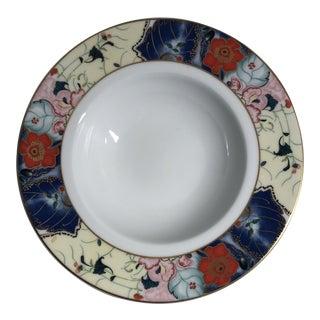 Limoges France Jardin De Printemps by Ceralene Soup Bowls For Sale