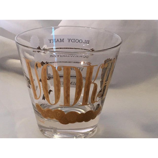 Vintage Jackson Lowell Vodka Glassware Signed - Set of 4 For Sale - Image 10 of 11