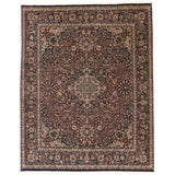 Image of 20th Century Persian Style Rug - 8′2″ × 9′4″ For Sale