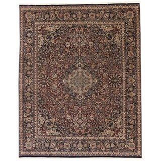 20th Century Persian Style Rug - 8′2″ × 9′4″ For Sale