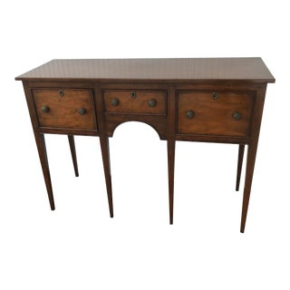 1950s Kittinger Colonial Williamsburg Mahogany Hepplewhite Sideboard For Sale