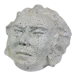 Mid-Century Ceramic Bust For Sale