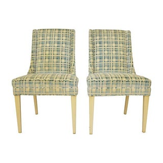 Mid-Century Accent Chairs- A Pair For Sale