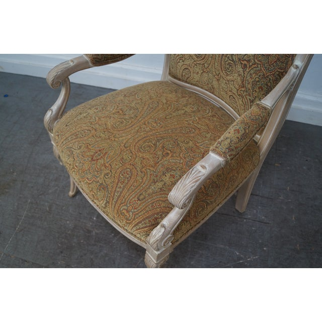 Regency Style Paisley Armchairs - A Pair - Image 3 of 10