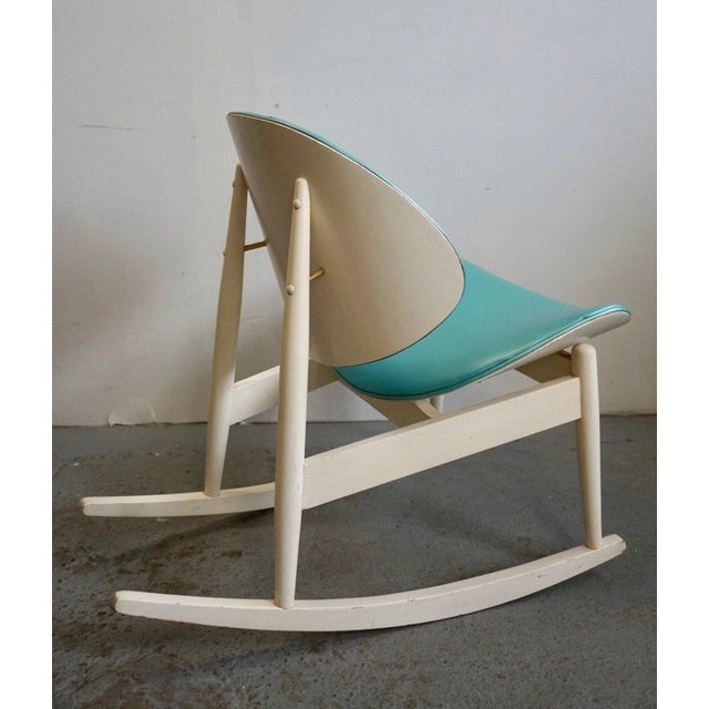 Wood Mid Century Modern Kodawood Rocking Chair For Sale - Image 7 of 8