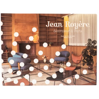 Jean Royere, Décorateur a Paris Book For Sale