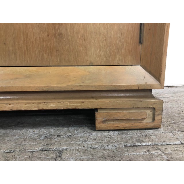 Grosfeld House Mid Century Asian Chinoiserie Solid Wood Credenza Buffet For Sale In Chicago - Image 6 of 11