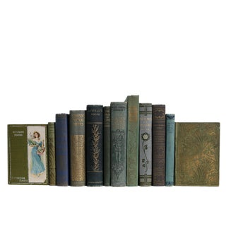 Antique Garden of Poetry Book Set, S/12 For Sale
