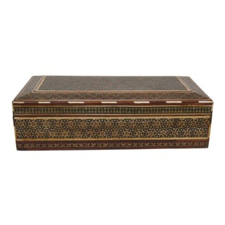 Antique Early 20th Century Assyrian Box For Sale